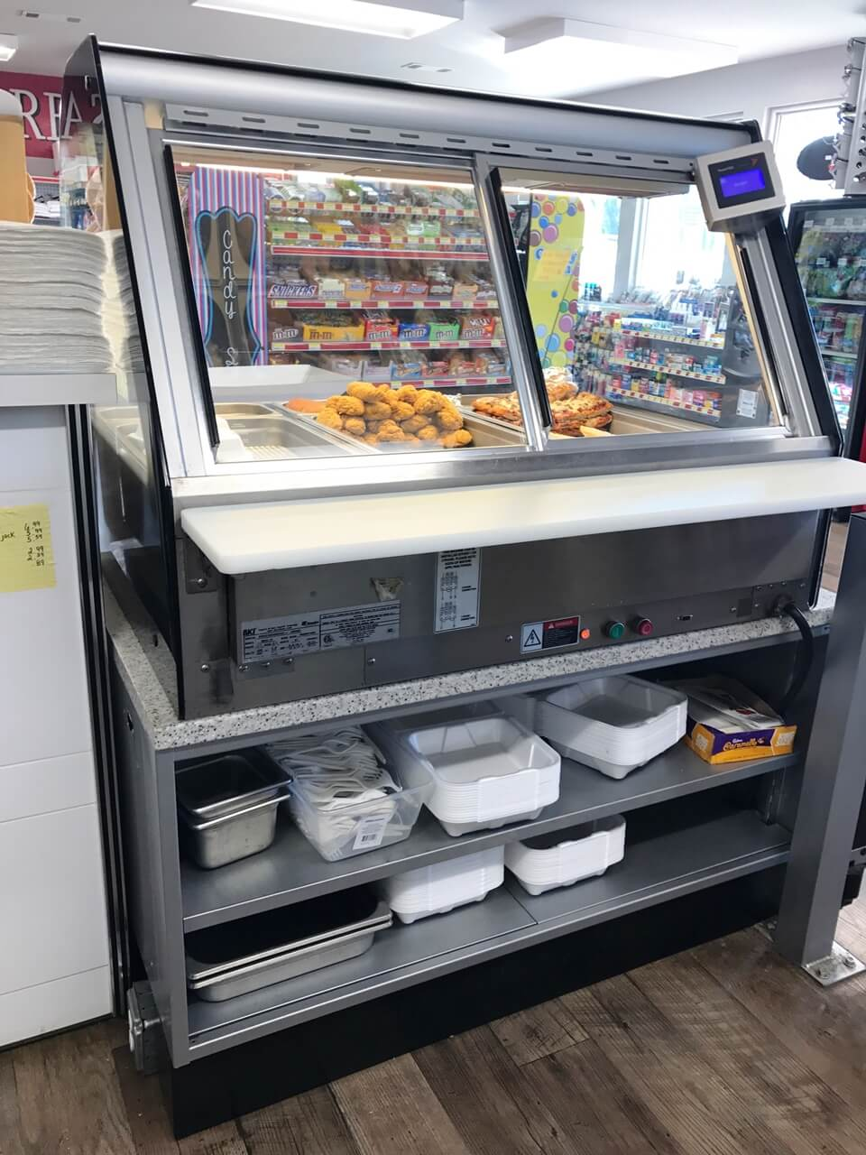 Hot Deli Case
