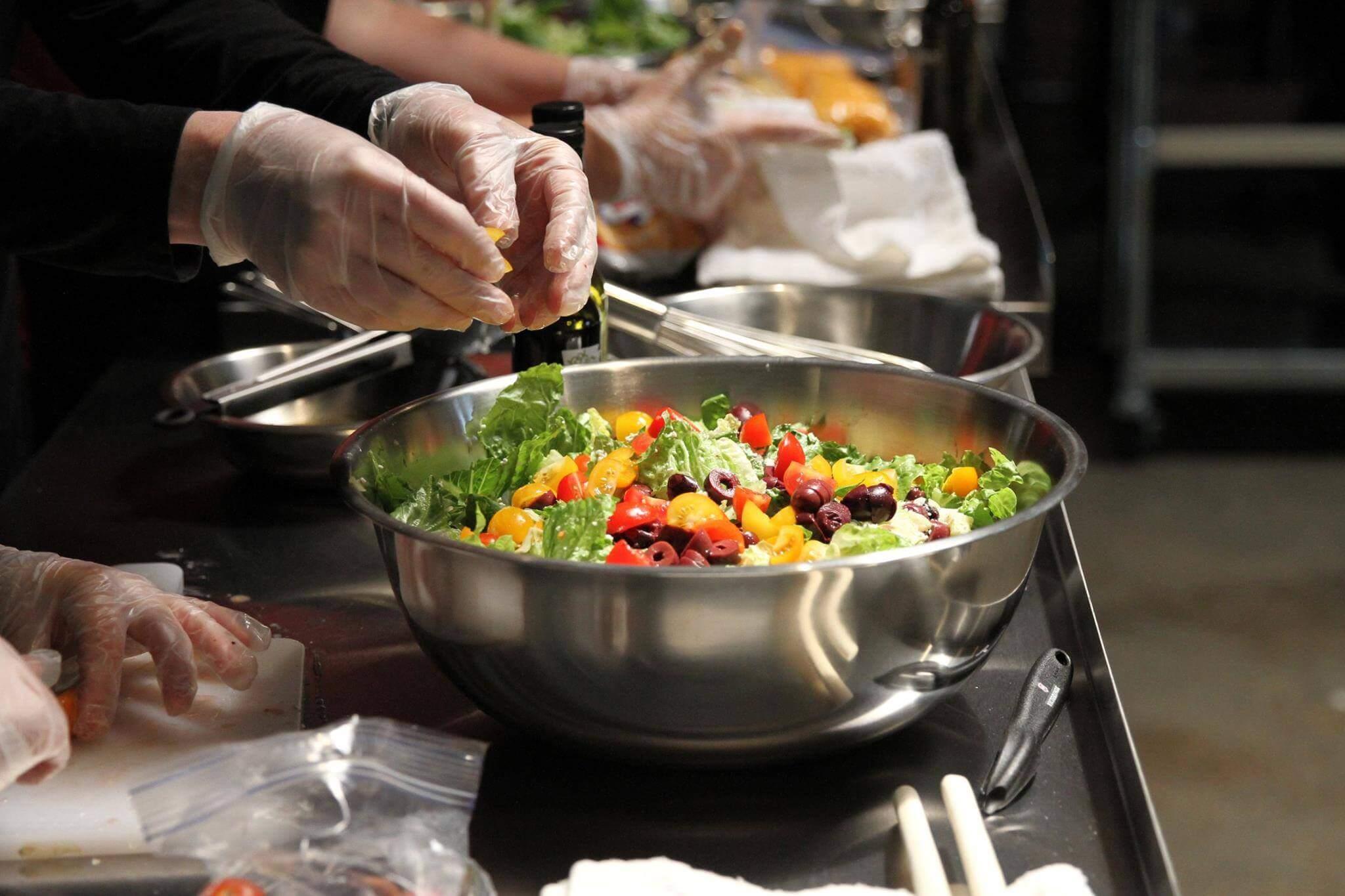 Salad as an Entree Class