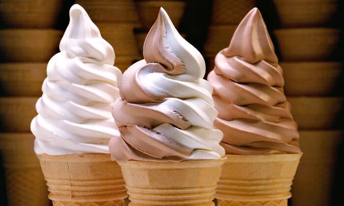 Soft Serve Icecream Cones